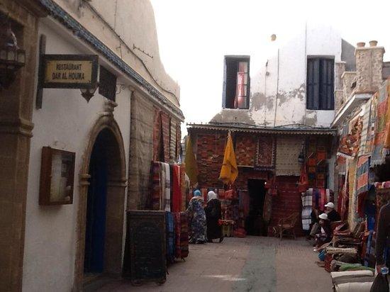 Safran : Le vie del centro