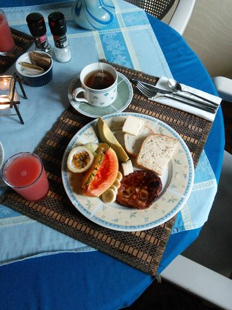 Hale Moana Bed & Breakfast: brkfst