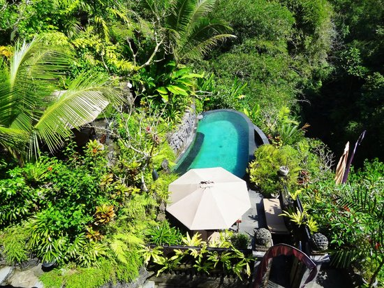Bidadari Private Villas & Retreat: Pool at Villa Kenyeri
