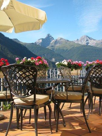Hotel Restaurant Bellevue: Terrasse