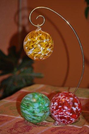 Boise Art Glass: Christmas Ornaments