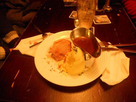 Farringtons Restaurant: La pie!