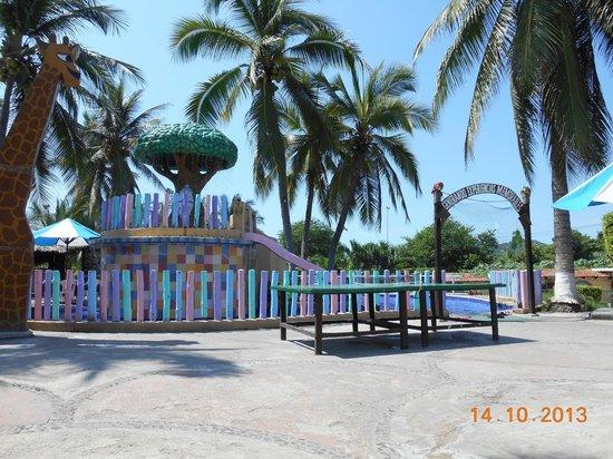 Hotel Vista Playa de Oro Manzanillo : área infantil