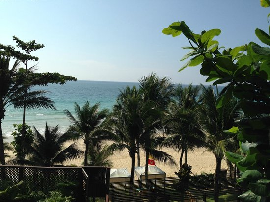 Andaman White Beach Resort: View from the room