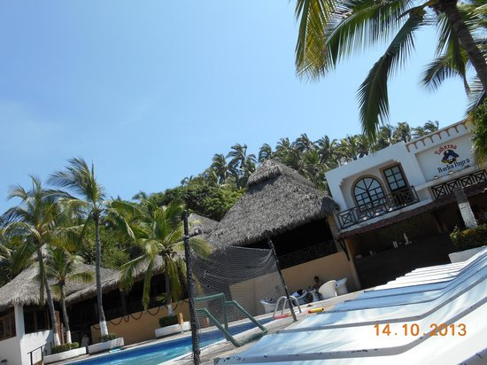 Hotel Vista Playa de Oro Manzanillo : comedor