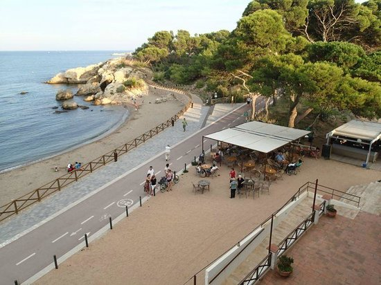 Hostal Spa Empuries: Bar indépendant