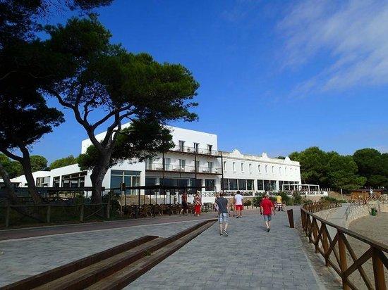 Hostal Spa Empuries: Bâtiment principal