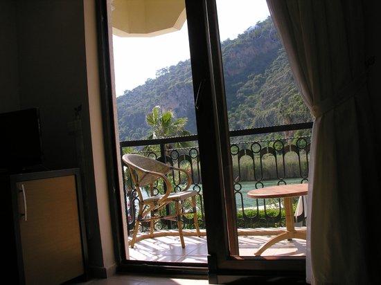 Dalyan Tezcan Hotel: Balcony