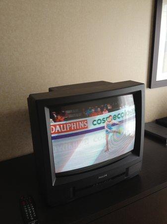 Comfort Inn: TV a bit out of date