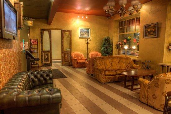 Viktorija Hotel: Reception