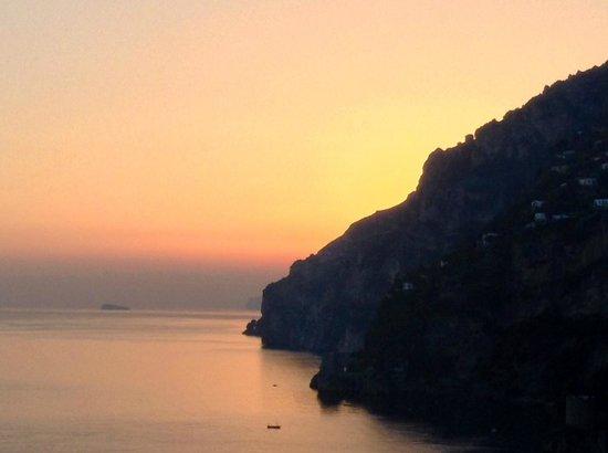 Hotel Maricanto: Golden Positano sunset