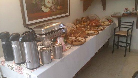 Pousada Iande: Café da Manhã