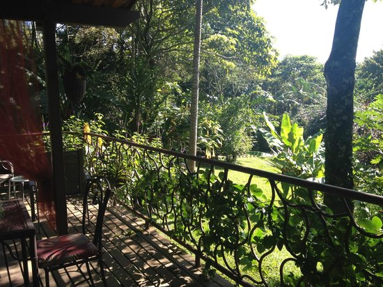 Tacacori EcoLodge: breakfast area