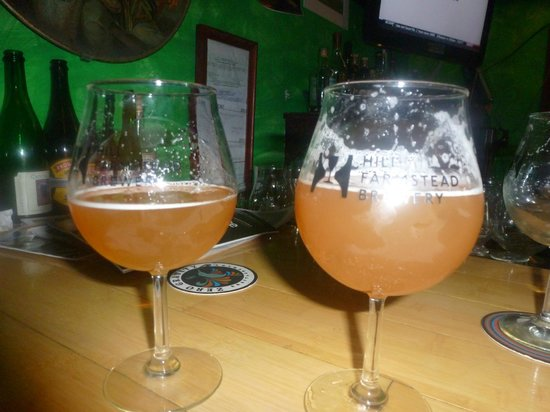 Blackback Pub: Hill Farmstead (Abner on the left, Edward on the right)