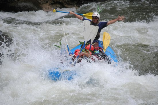 Aguas Bravas Rafting Company: great white water