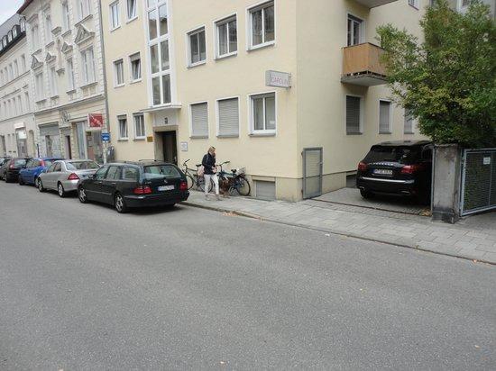 Hotel-Pension Carolin: Vista exterior