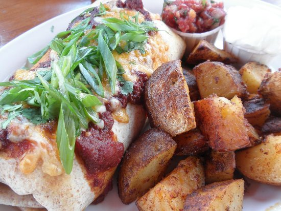 Tree-House Cafe: Breakfast Brrito