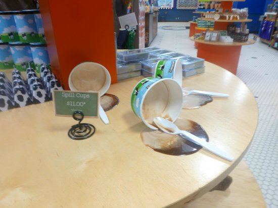 Ben & Jerry's: Merchandise in the shop