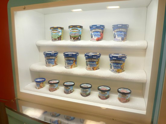 Ben & Jerry's: Empty containers
