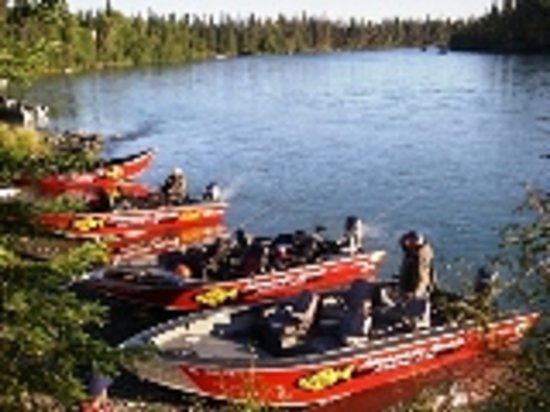 Jimmie Jack's Alaska Lodge: Best Boats on the Water