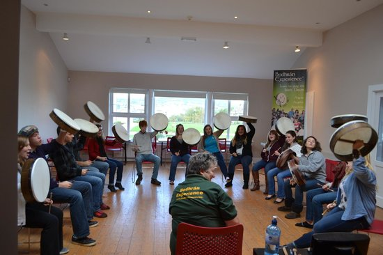 Bodhran Experience: Group Drumming With Helen