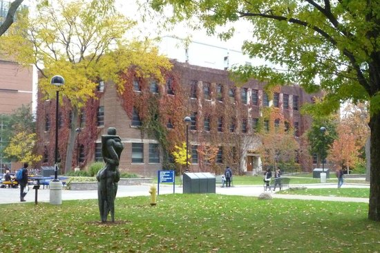 University of Windsor: Nice campus