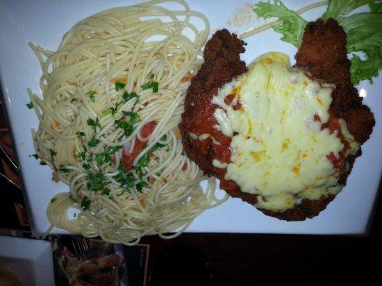 Sport Café: bife a parmegiana