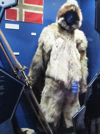 Fram Polar Ship Museum: clothing