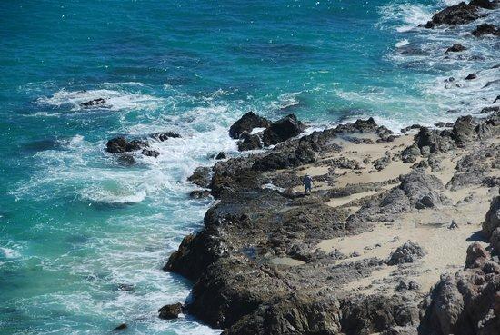 Club Regina Los Cabos: Ocean just below our rooms