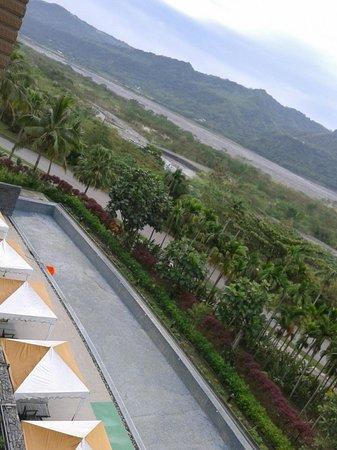 Luminous Hot Spring Resort & SPA: view from balcony
