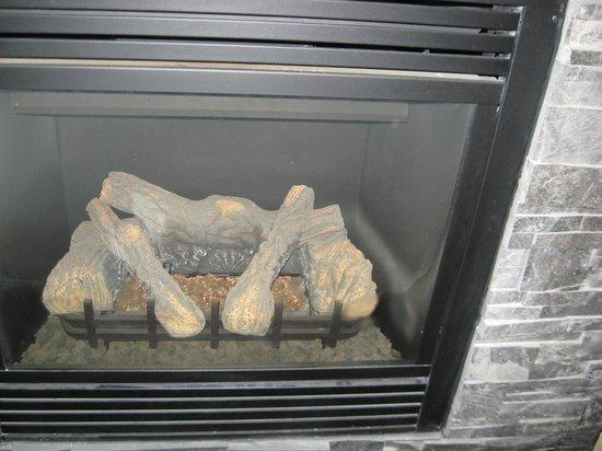 Hilton Garden Inn Gatlinburg Downtown : Lovely Fireplace