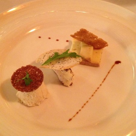 Restaurant Greuze : The playful cheese course