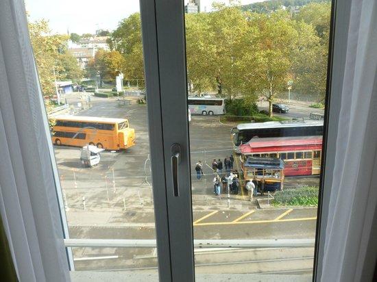 Walhalla Hotel: View from window