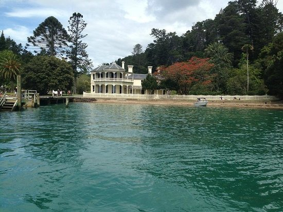 Kawau Lodge: Mansion House Bay