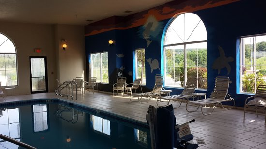 Comfort Inn Clearfield : Pool