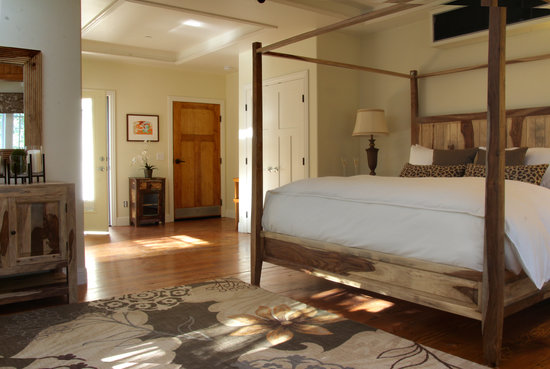 The Grand Idyllwild Lodge : Suite Romance....that's all that needs to be said.