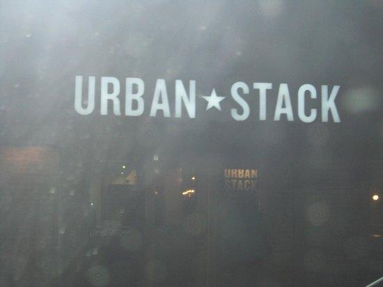 Urban Stack : Door to restaurant