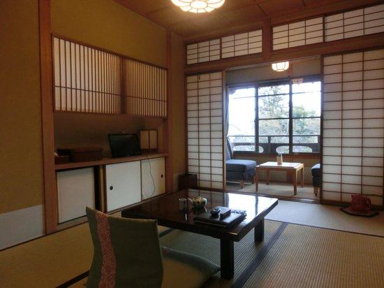 Umenoya: お一人さま用の部屋「羽衣」