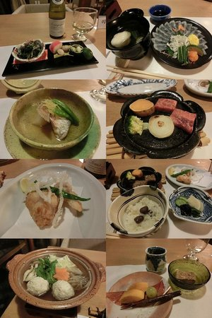 Umenoya: 夕食