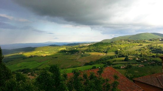 Camere Bellavista : view from balcony