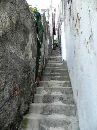 Casa Cosenza: steps