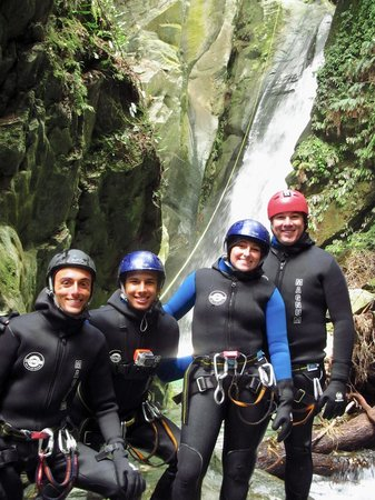 Deep Canyon: Our intrepid group