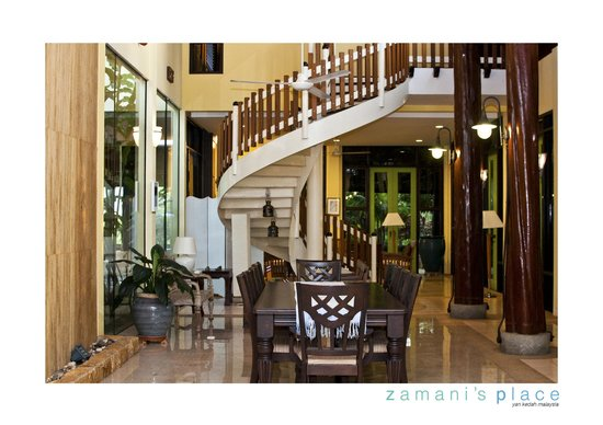 Zamani's Place: Main Hall. Perfect for brainstorming sessions/meetings/dinner