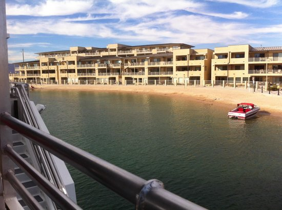 London Bridge Resort: View from the boat
