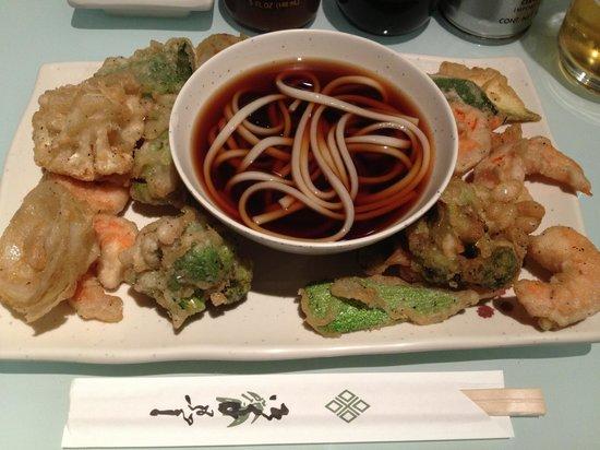 Koto sushi bar: Tempura-udon