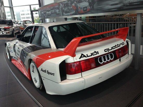 Audi Museum: quattro