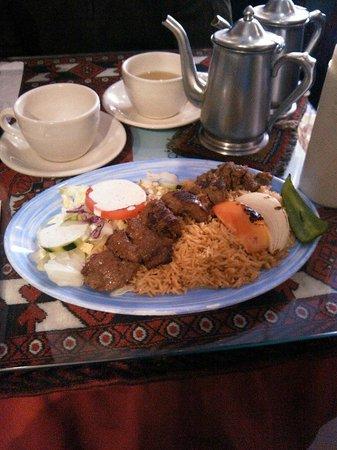 Ariana Afghan Kabab Restaurant: Очень вкусно