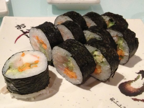 Koto sushi bar: Futo-maki