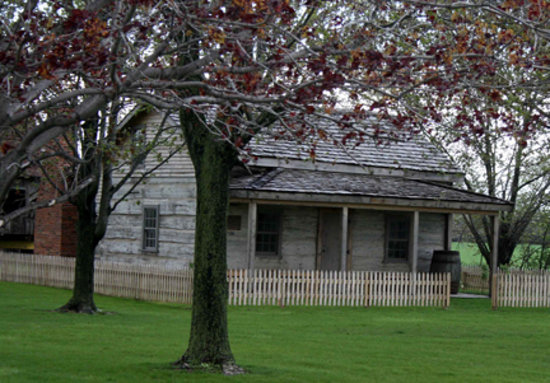 Buxton National Historic Site & Museum: Built in 1854 by fugitives from slavery to settlement specifications.