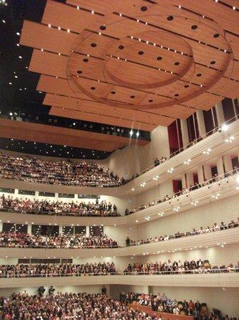 KKL Luzern - Lucerne Culture and Convention Centre : Большой концертный зал